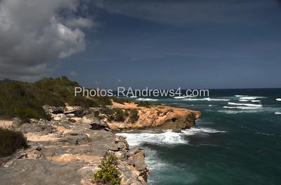 Maha'ulepu trail near Shipwreck Beach