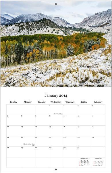 Jan2014 Calendar Page