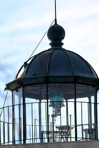 At the Horton Point Lighthouse, Southold, NY.