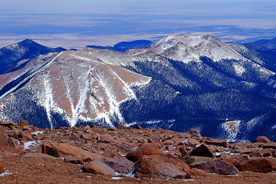 View from the Pikes Peak Summit