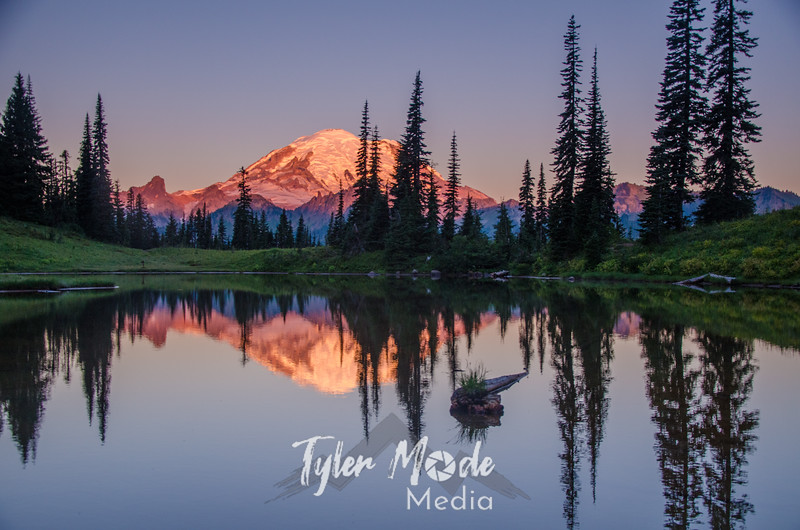 35. Mt. Rainier and Tipsoo Lake