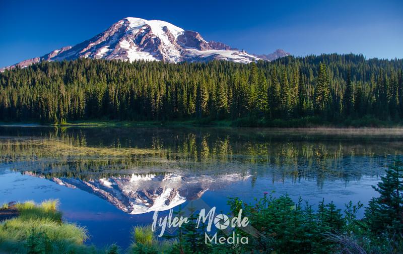 36. Mt. Rainier and Reflection Lakes