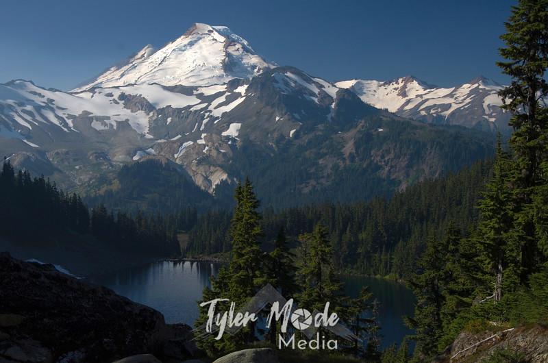 1. Mt. Baker and Iceberg Lake