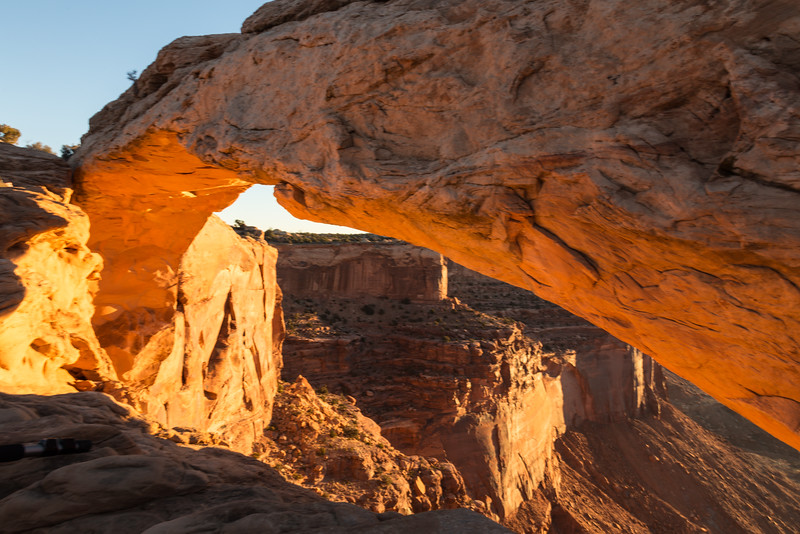 Mesa Arch at Sunrise -- Canyonlands National Park, Utah