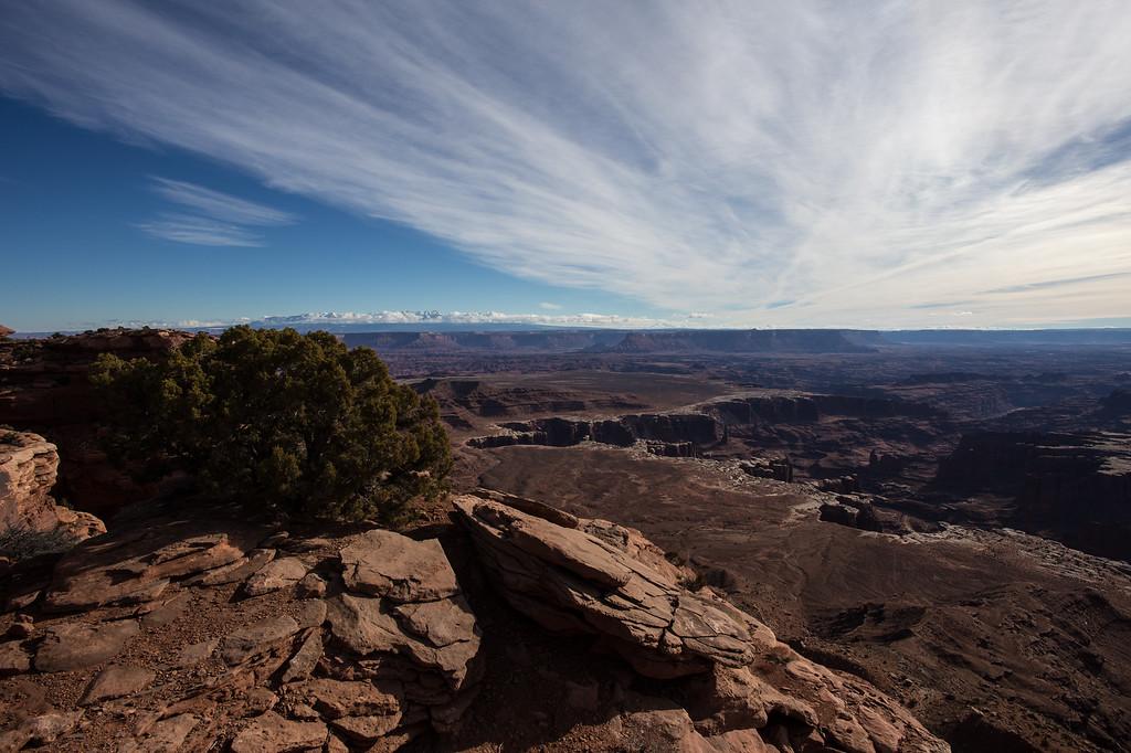 The Grandview Overlook -- Canyonlands National Park, Utah