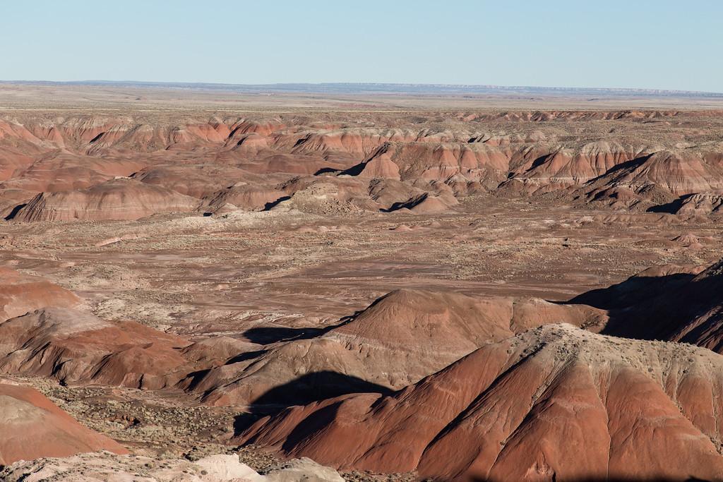 Painted Desert -- Petrified Forest National Park, AZ