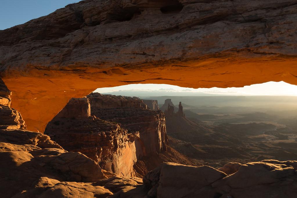Mesa Arch at Sunrise -- Canyonlands National Park, Utah
