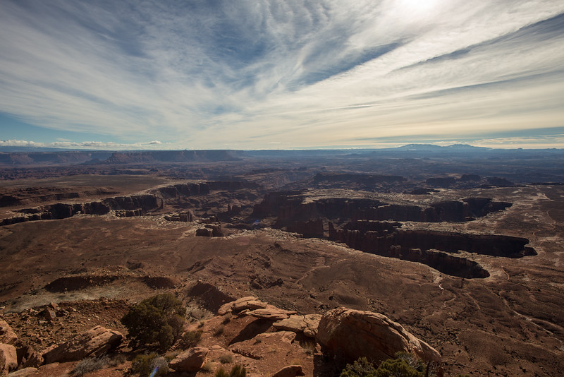 The Grandview Overlook -- Canyonlands National Park, Utah