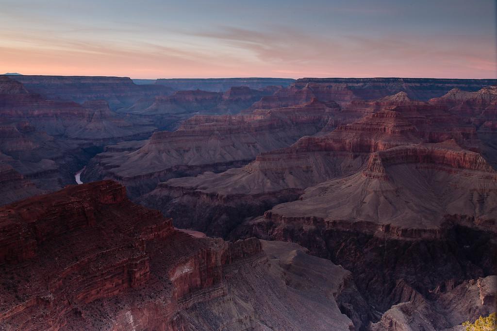 After Sunset @ Hopi Point -- Grand Canyon National Park, AZ