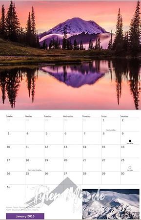2016 Nature's Pix Calendar