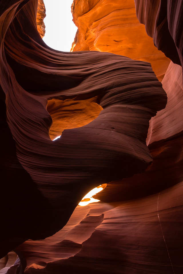 The Lady of the Wind -- Lower Antelope Canyon