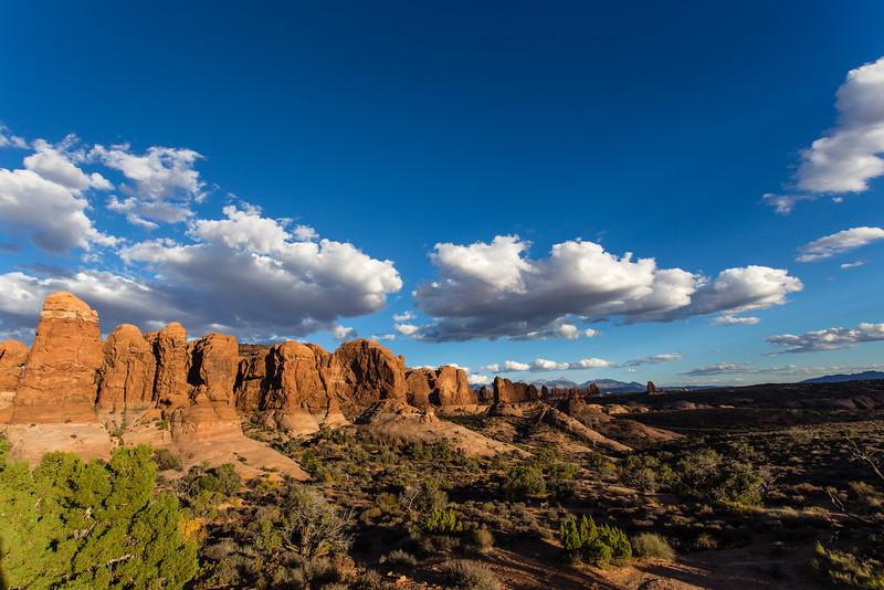 The Garden of Eden -- Arches National Park