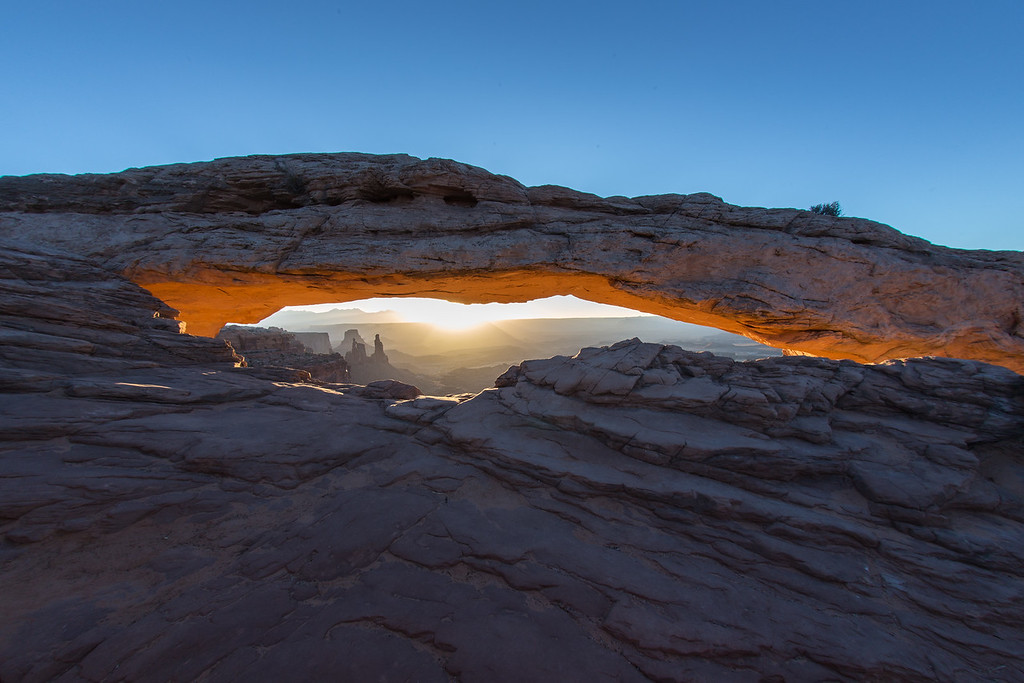Mesa Arch at Sunrise