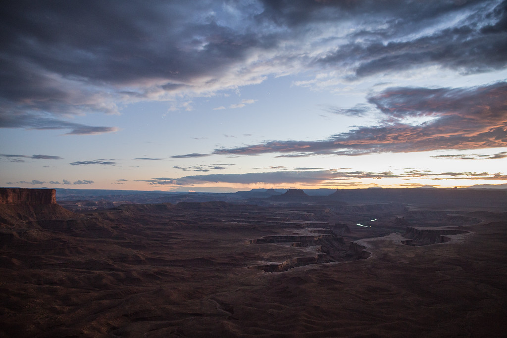 Evening at the Green River Overlook
