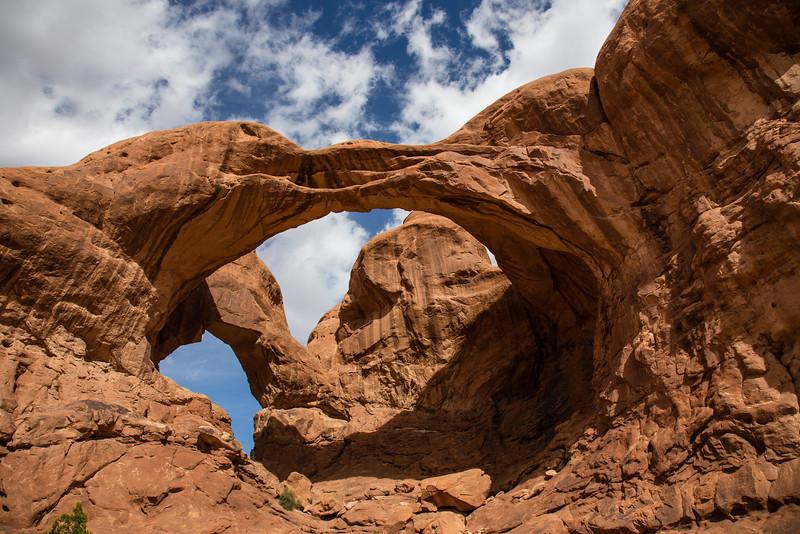 Double Arch -- Arches National Park