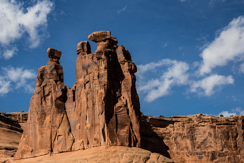The Three Gossips -- Arches National Park