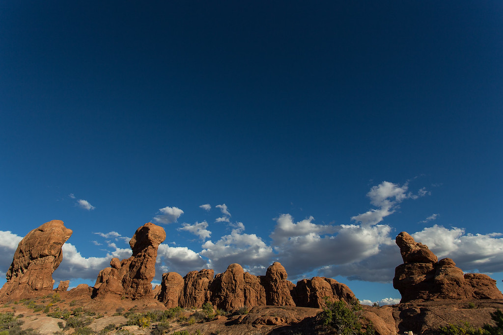 The Garden of Eden -- Arches National Park