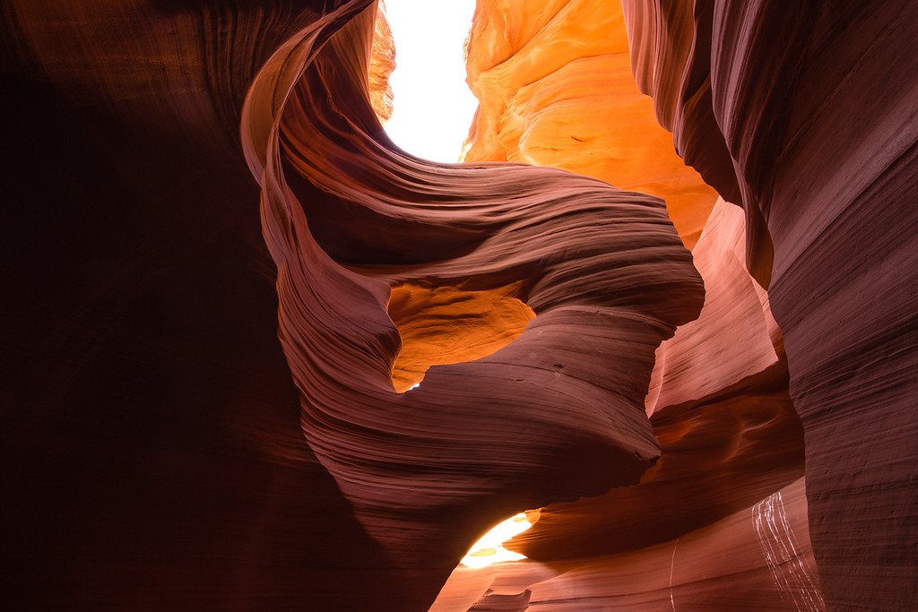 Lady of the Wind -- Lower Antelope Canyon