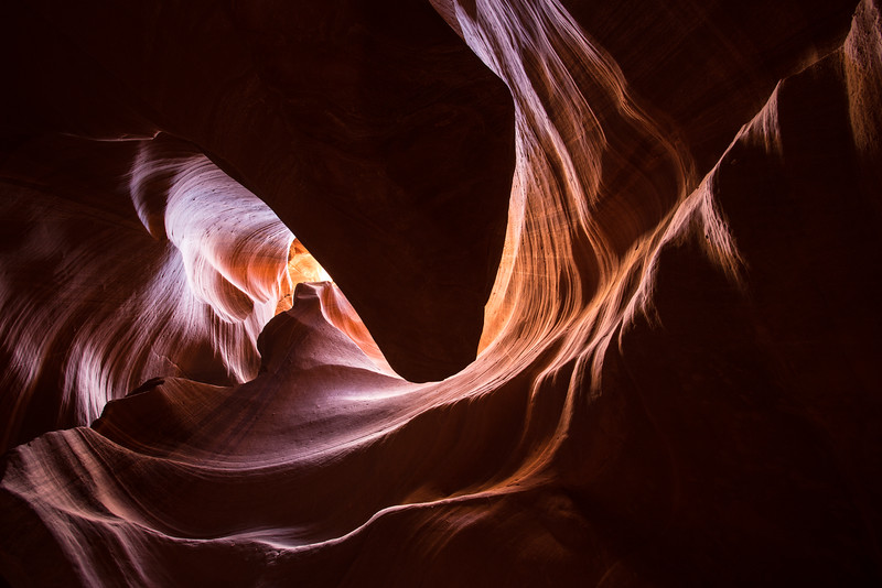 The Heart of the Canyon -- Upper Antelope Canyon