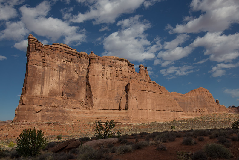 The Courthouse -- Arches National Park