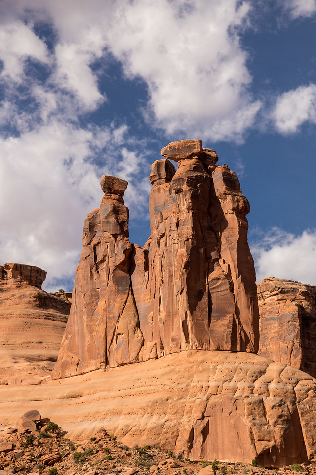 The Three Gossips-- Arches National Park