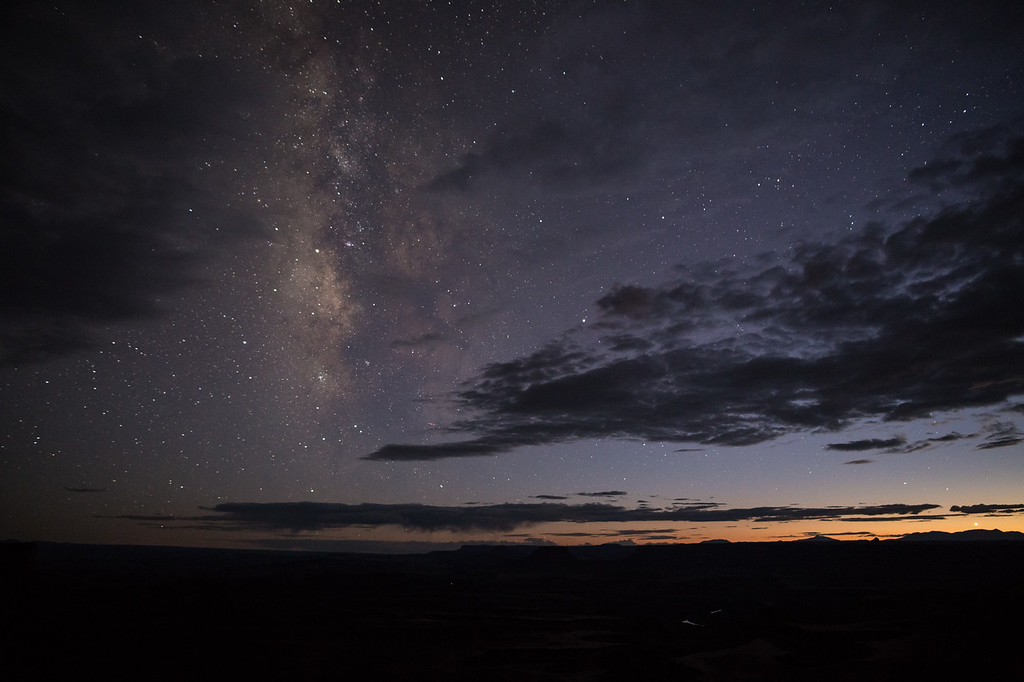 The Milky Way at the Green River Overlook
