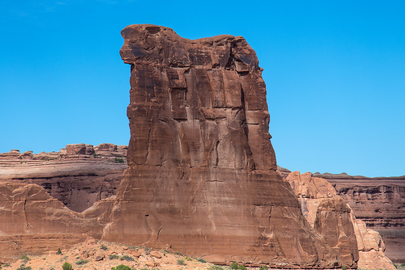 Sheep Rock -- Arches National Park