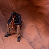 Our tour guide Brady -- Lower Antelope Canyon