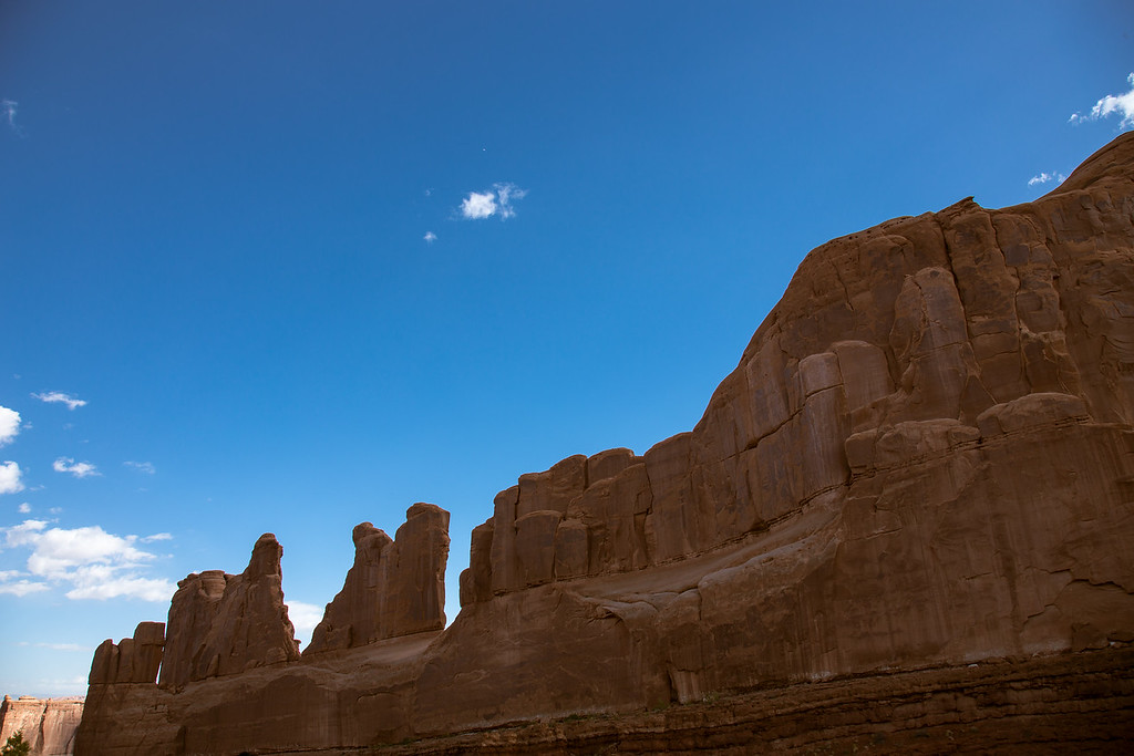 Park Avenue -- Arches National Park