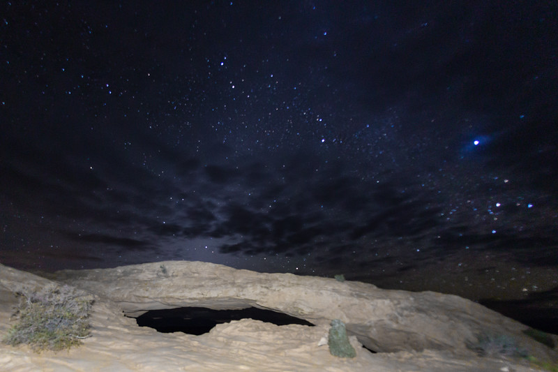 Pre-dawn at the Mesa Arch