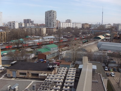 2016-03-22, View to the railway from The 8th of March street