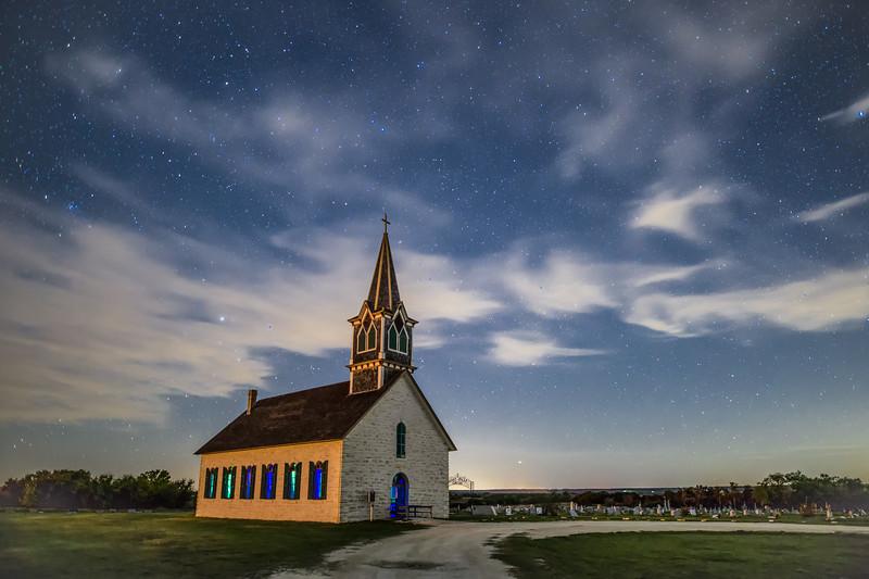 St Olafs, the Old Rock Church