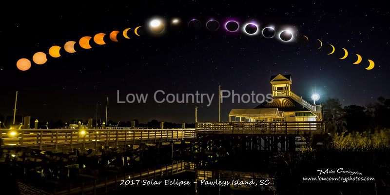 2017 Solar Eclipse - Pawleys Island