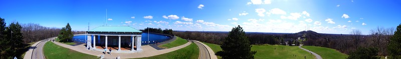 Cobbs Hill Reservoir 360 degree Panorama