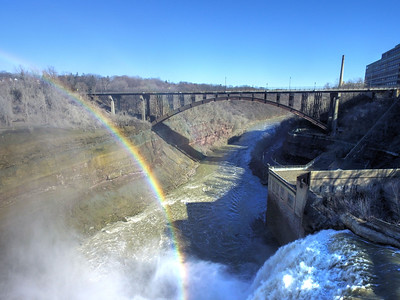 Lower Falls Drone