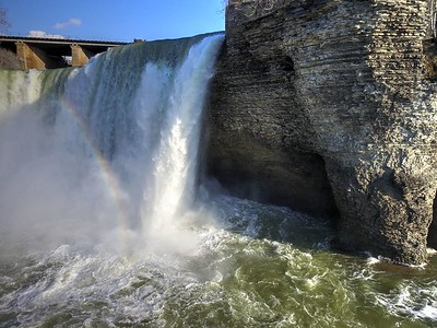 High Falls Drone