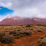 Red Mountain from Black Desert