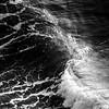 363  G Oregon Coast Waves Close BW