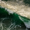 355  G Oregon Coast Waves Close