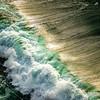 351  G Oregon Coast Waves Close