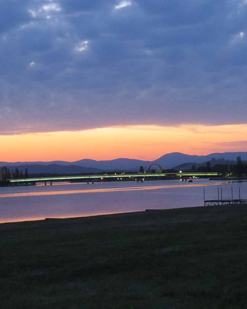 28 Oct 2013 Canberra sunset