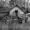 18  G Abandoned Home BW