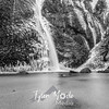 53  G Horsetail Falls Wide BW