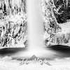 33  G Horsetail Falls BW