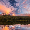 14  Sunrise Reflection Lakes Rainier