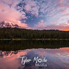 12  Sunrise Reflection Lakes Rainier