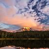 17  Sunrise Reflection Lakes Rainier V
