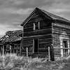 22  G Abandoned Home BW