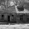 7  G Old House BW