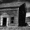 20  G Abandoned Home BW